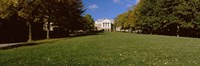 Lawn in front of a building, Bascom Hall, Bascom Hill, University of Wisconsin, Madison, Dane County, Wisconsin, USA Fine Art Print
