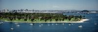Bridge across a bay, Coronado Bridge, San Diego, California, USA by Panoramic Images - various sizes