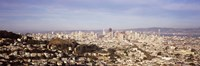 "Panoramic view of San Francisco, California by Panoramic Images - 36"" x 12"""