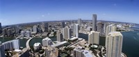 Aerial View of Miami, Florida, 2008 Fine Art Print