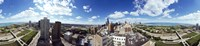 """360 degree view of a city, Chicago, Cook County, Illinois, USA by Panoramic Images - 36"""" x 12"""""""