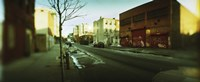 """Buildings in a city, Williamsburg, Brooklyn, New York City, New York State, USA by Panoramic Images - 36"""" x 12"""""""
