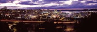 """Aerial view of a city, Tacoma, Pierce County, Washington State, USA 2010 by Panoramic Images, 2010 - 36"""" x 12"""""""
