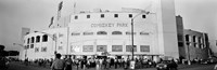 """People outside a baseball park, old Comiskey Park, Chicago, Cook County, Illinois, USA by Panoramic Images - 36"""" x 12"""" - $34.99"""