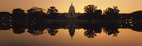 """Sepia Toned Capitol Building at Dusk, Washington DC by Panoramic Images - 36"""" x 12"""" - $34.99"""