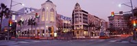 """Rodeo Drive, Beverly Hills, California by Panoramic Images - 36"""" x 12"""""""