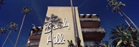 """Low angle view of a hotel, Beverly Hills Hotel, Beverly Hills, Los Angeles County, California, USA by Panoramic Images - 36"""" x 12"""""""