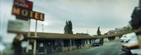 "Motel at the roadside, Aurora Avenue, Seattle, Washington State, USA by Panoramic Images - 36"" x 12"""