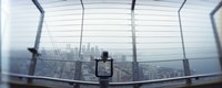 """City viewed from the Space Needle, Queen Anne Hill, Seattle, Washington State, USA by Panoramic Images - 36"""" x 12"""""""