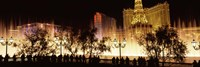 Las Vegas Hotels at Night by Panoramic Images - various sizes - $32.49