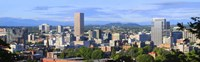 Portland skyline, Oregon Fine Art Print