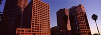 "Buildings in Los Angeles, California by Panoramic Images - 36"" x 12"""