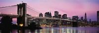 Brooklyn Bridge, Manhattan, New York City by Panoramic Images - various sizes