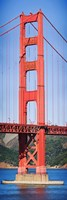 Suspension bridge tower, Golden Gate Bridge, San Francisco Bay, San Francisco, California, USA by Panoramic Images - various sizes - $32.49