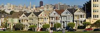 Famous row of Victorian Houses called Painted Ladies, San Francisco, California, USA 2011 by Panoramic Images, 2011 - various sizes - $32.49
