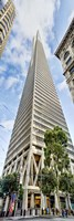 Low angle view of skyscrapers, Transamerica Pyramid, San Francisco, California, USA 2011 by Panoramic Images, 2011 - various sizes