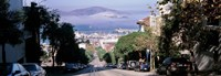 """Street scene, San Francisco, California, USA by Panoramic Images - 36"""" x 12"""""""