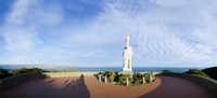 """Monument on the coast, Cabrillo National Monument, Point Loma, San Diego, San Diego Bay, San Diego County, California, USA by Panoramic Images - 36"""" x 16"""" - $40.49"""