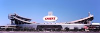 """Arrowhead Stadium, Kansas City, Missouri by Panoramic Images - 36"""" x 12"""""""