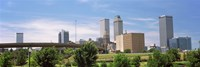 "Downtown Tulsa from Centennial Park, Oklahoma by Panoramic Images - 36"" x 12"", FulcrumGallery.com brand"