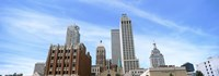 "DowntownTulsa skyline, Oklahoma by Panoramic Images - 36"" x 12"", FulcrumGallery.com brand"