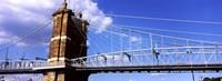 """Bridge across the Ohio River, Ohio by Panoramic Images - 36"""" x 12"""""""