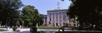 """Government building in a city, City Hall, Raleigh, Wake County, North Carolina, USA by Panoramic Images - 36"""" x 12"""" - $34.99"""