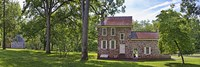 Facade of a building, Washington's Headquarters, Valley Forge National Historic Park, Philadelphia, Pennsylvania, USA by Panoramic Images - various sizes