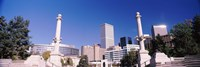 """Buildings from Civic Center Park, Denver, Colorado, USA by Panoramic Images - 36"""" x 12"""""""