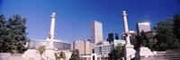 Buildings from Civic Center Park, Denver, Colorado, USA Fine Art Print