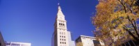 "Low angle view of a Clock tower, Denver, Colorado by Panoramic Images - 36"" x 12"", FulcrumGallery.com brand"