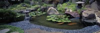 """Japanese Garden, University of California, Los Angeles by Panoramic Images - 36"""" x 12"""""""
