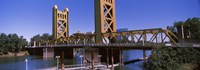 "Tower Bridge, Sacramento, CA , USA by Panoramic Images - 36"" x 12"""