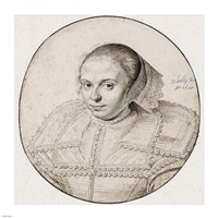 Portrait of a Woman by David Bailly - various sizes