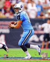 Jake Locker 2013 Action Fine Art Print