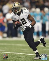 Marques Colston with the ball 2013 Fine Art Print