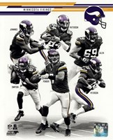 Minnesota Vikings 2013 Team Composite Fine Art Print