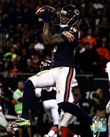 Brandon Marshall with the ball 2013 Fine Art Print