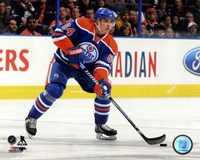 Nail Yakupov 2013-14 Action Framed Print