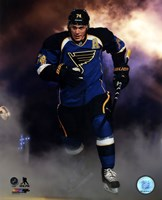 T.J. Oshie 2013-14 Action Fine Art Print
