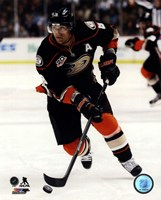 Teemu Selanne on ice 2013-14 Fine Art Print
