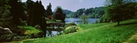 """Stourhead Garden, England, United Kingdom by Panoramic Images - 27"""" x 9"""""""