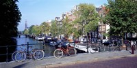 Netherlands Amsterdam Bicycles