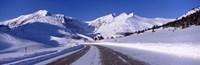 Canada, Alberta, Banff National Park, icefield, road Fine Art Print