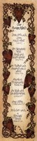 """Godly House Rules by Linda Spivey - 8"""" x 30"""""""