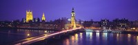 England, London, Parliament, Big Ben Fine Art Print