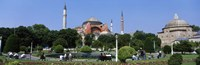 """Hagia Sophia, Istanbul, Turkey by Panoramic Images - 27"""" x 9"""""""