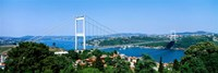 Bosphorus Bridge, Istanbul, Turkey Fine Art Print