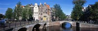"""Row Houses, Amsterdam, Netherlands by Panoramic Images - 27"""" x 9"""" - $28.99"""