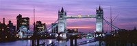 England, London, Tower Bridge Fine Art Print